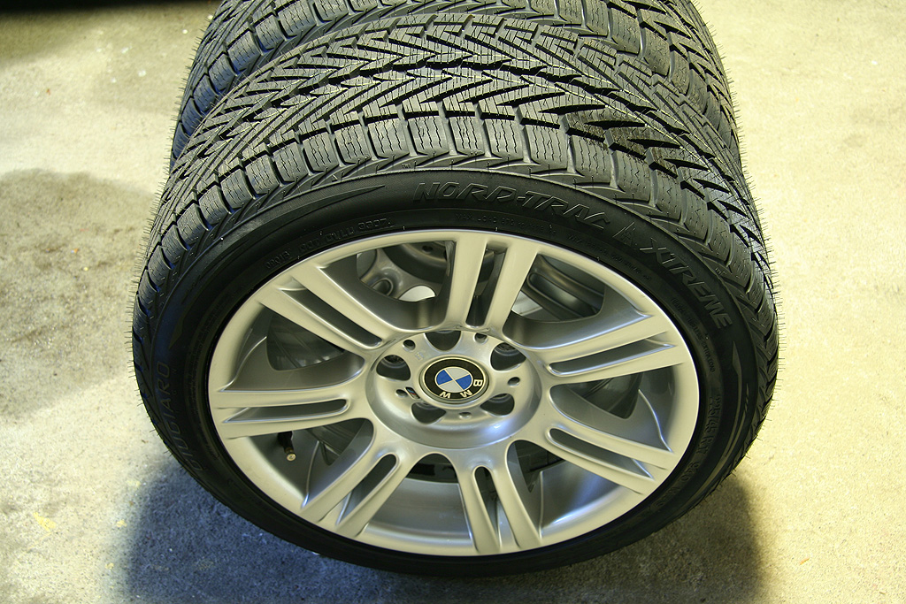 225 45 17 Winter Tires On 8 Quot And 8 5 Quot Wide 194m Wheels