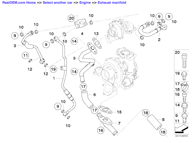 Replacing turbo oil supply line hose 11427795970 or why
