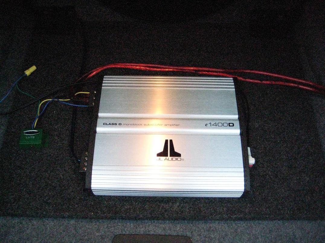 Diy Amplifier Sub Install For E92 With I Drive Jl Audio Subwoofer Wiring Diagram Attached Images