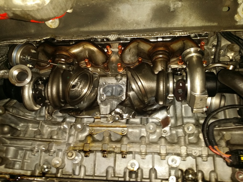 N54 Turbo Removal And Installation