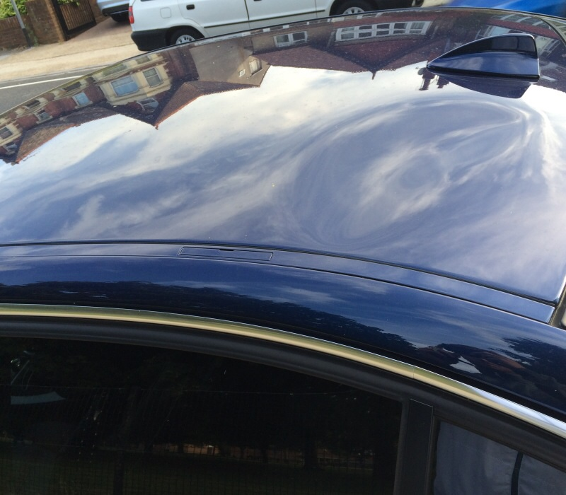 Dent On My E90 Roof