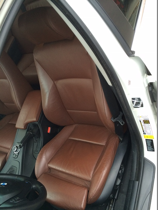 E90 Pre Lci Bmw 3 Series Sedan Sport Seats Terra Dakota Brown Super Rare Color