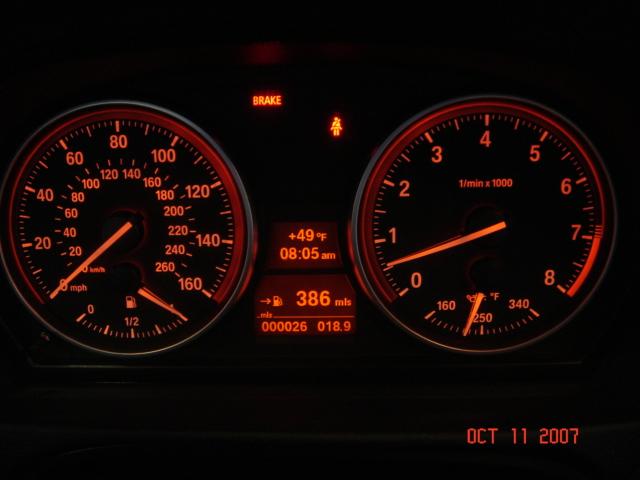 Picture Request E92 Dash At Night