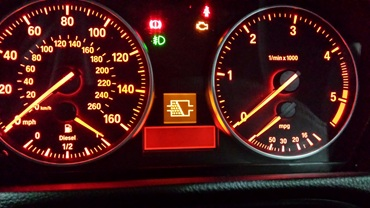 BMW D DPF WARNING LIGHT HELP PLEASE - Bmw e90 warning signs