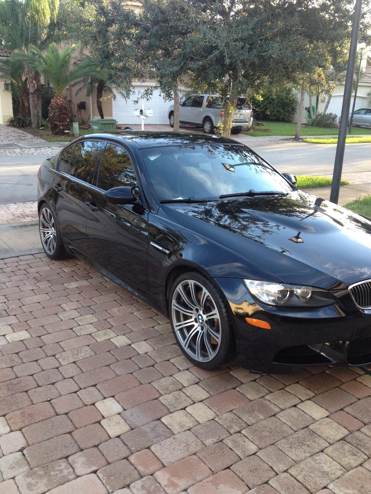 2008 Black M3 for Sale miles Extended Warranty till Dec 2017