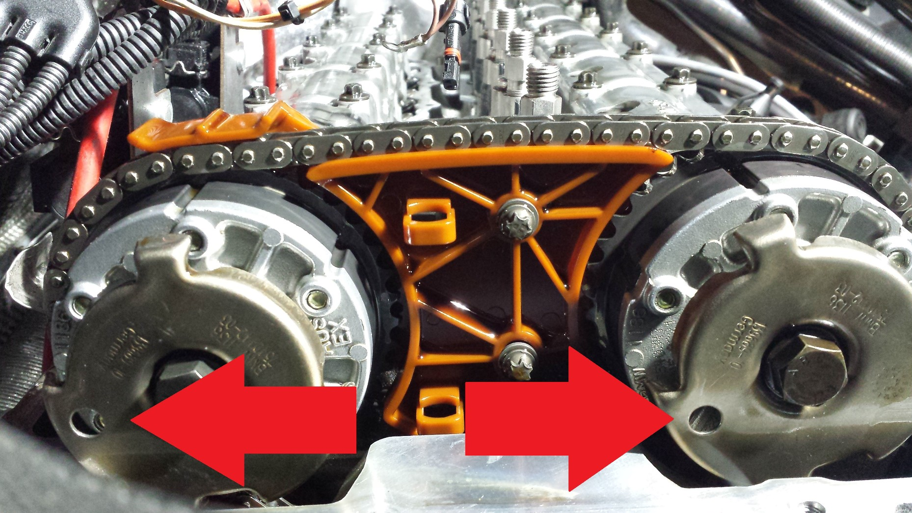 Can T Install Crank Bolt N54 Engine Timing Sprocket