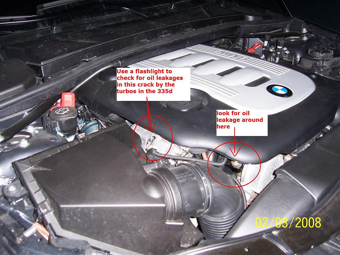 335d Turbo And Exhaust Problems
