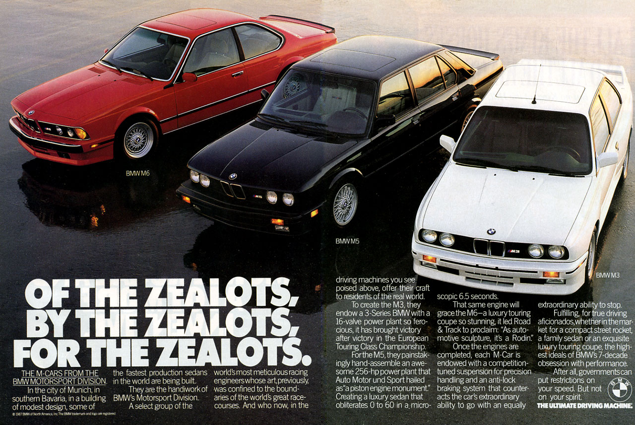 Post pictures of BMW E24 advertisements