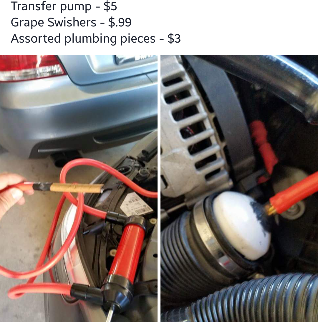 $10 smoke test DIY / how I fixed my 30FF - BMW 3-Series (E90
