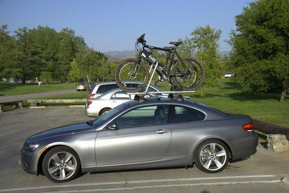 FS Brand New Oem I Coupe Bike Rack - Bmw 335i bike rack