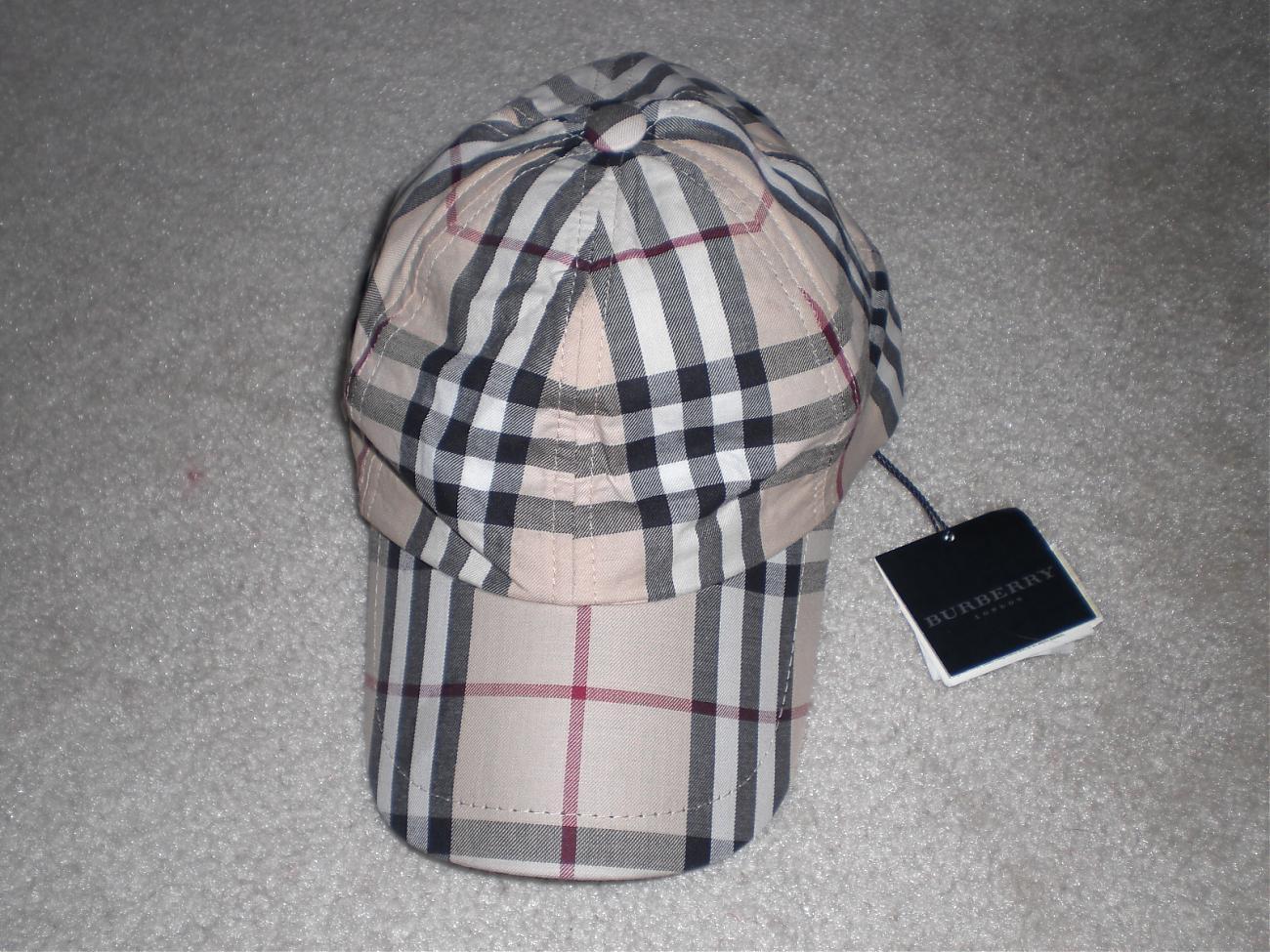 FS  Burberry Nova Check cap And Umbrella 0fb9c536b61