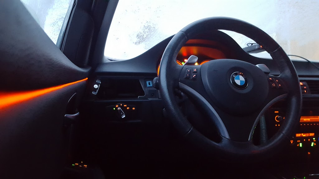 Anyone Done Ambient Led Trim Light Along Dash Doors Bmw