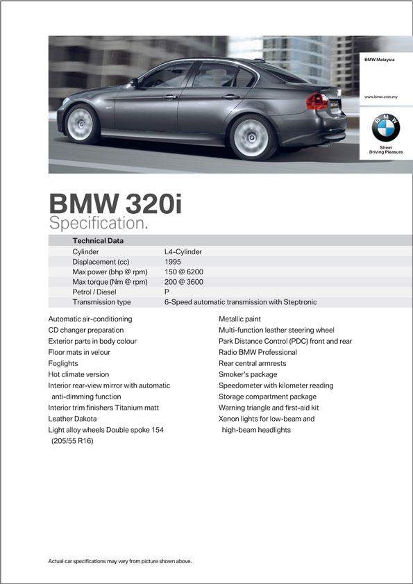 Bmw 320i Asia Spec