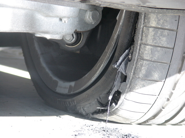 Can A Car With Flat Tires Be Towed