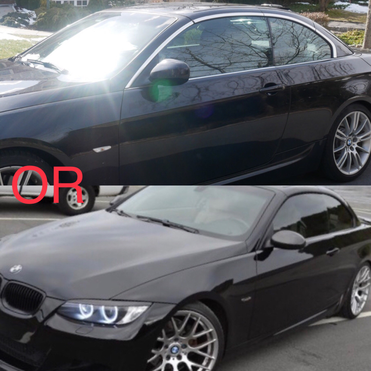 Black Out The Chrome Trim Or Is That Over Bmw 3 Series