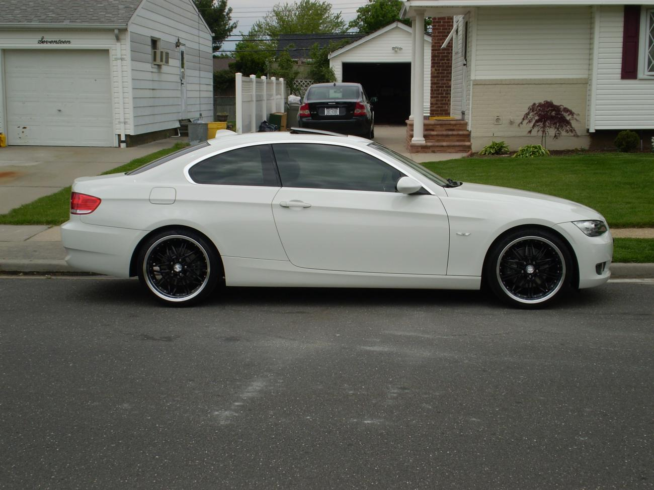 Anyone With Black Rims On White Car