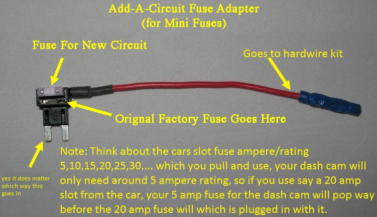Hard wire a dash camera to a BMW 330 d E90 2004-2008 via fuses