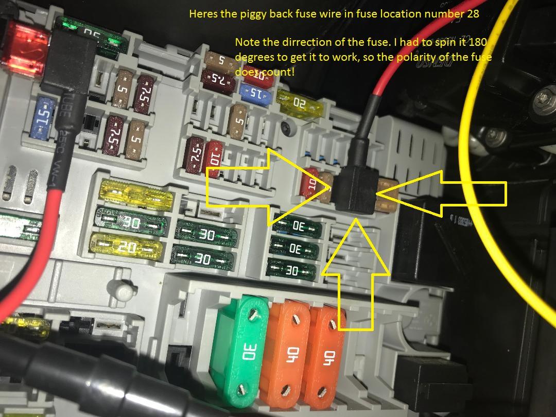 E92 M3 Fuse Box