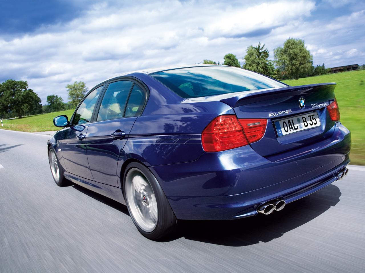 Alpina B3 Facelifted Lci E90 Sedan And E91 Touring Hi Res Pics