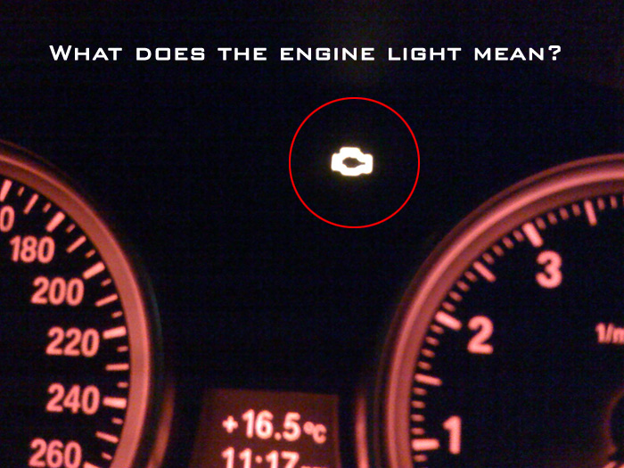 Yellow Engine warning light mean?