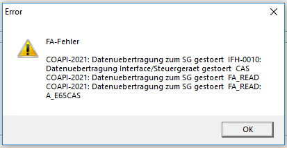 For Help with NCSExpert Errors - Page 13 - BMW 3-Series (E90
