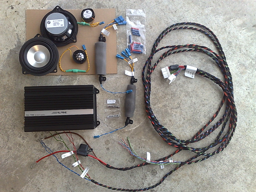 Alpine Hifi Upgrade Bmw E61 Wiring Harness Repair Kit