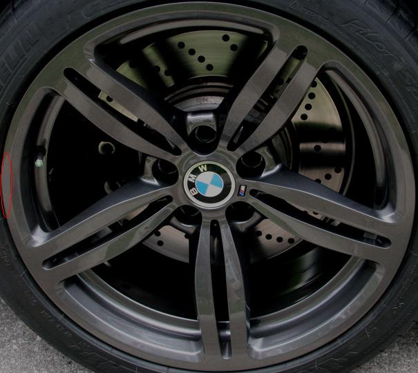 how to fix curb rash on machined rims