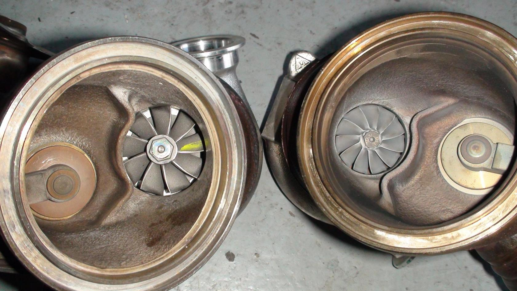 ASR Engineering 335135 Twin Ballbearing Turbo Upgrades Completed