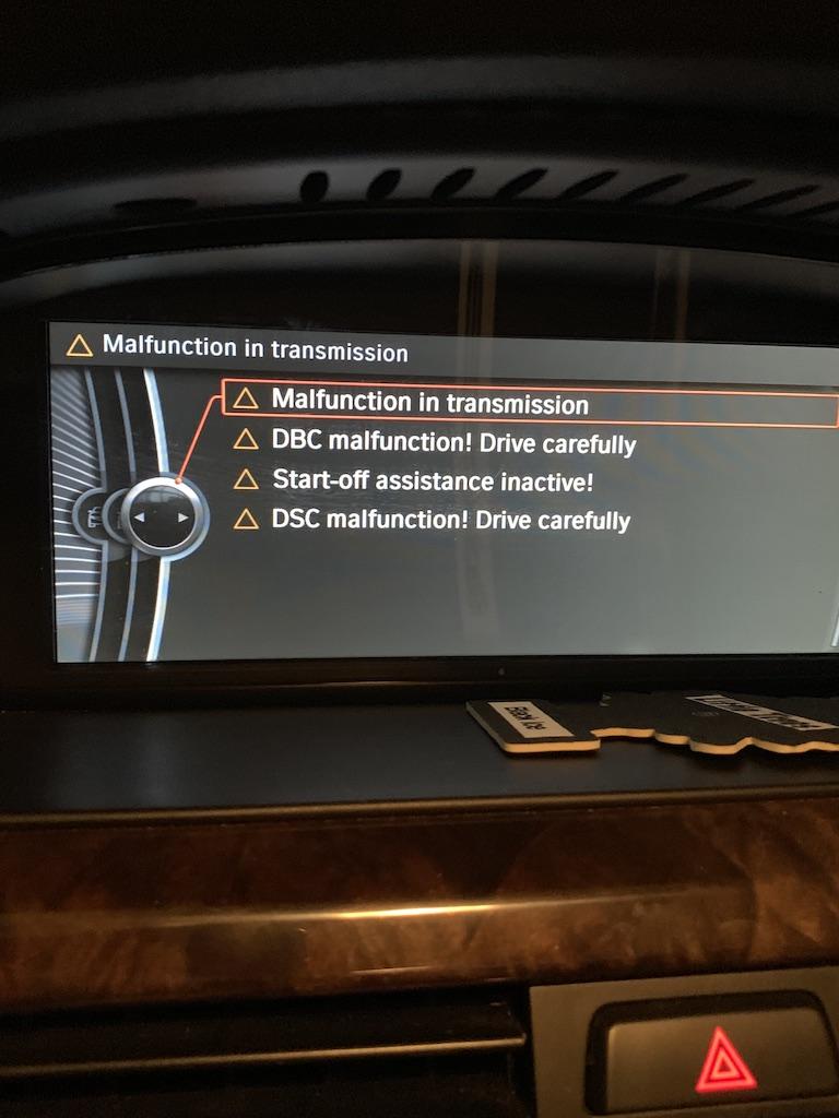 Malfunction In Transmission Dsc Brake Light Bmw 3 Series E90 E92 Forum