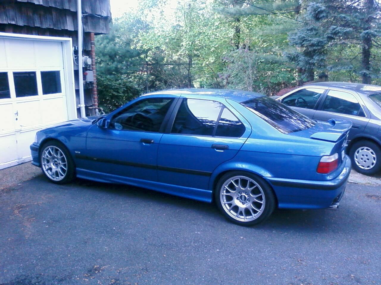Fs 1997 Bmw M3 4dr 119k Auto Estoril Blue Dove Grey Dinan Mods