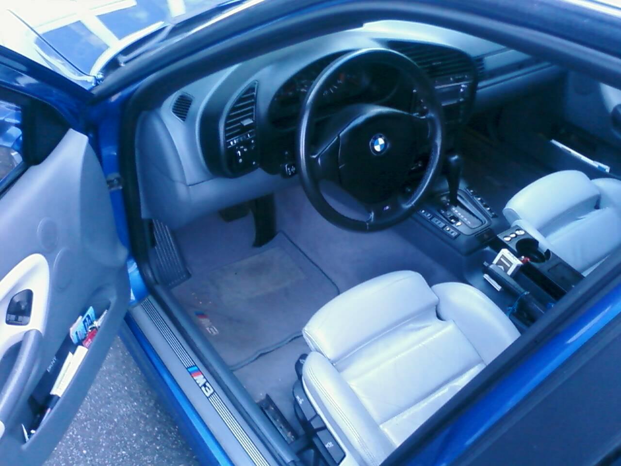 FS: 1997 BMW M3 4Dr. 119K, Auto Estoril Blue/ Dove grey ...
