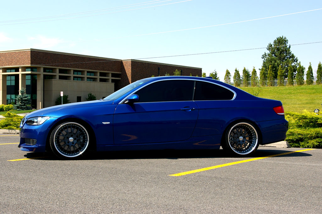 Lease takeover 2007 335i coupe Montego Blue w/mods