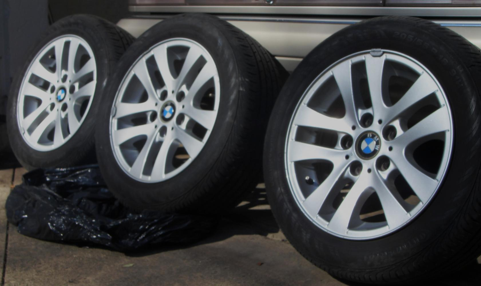 OEM BMW I Series Factory Rims And Tires - Bmw 328i run flat tires