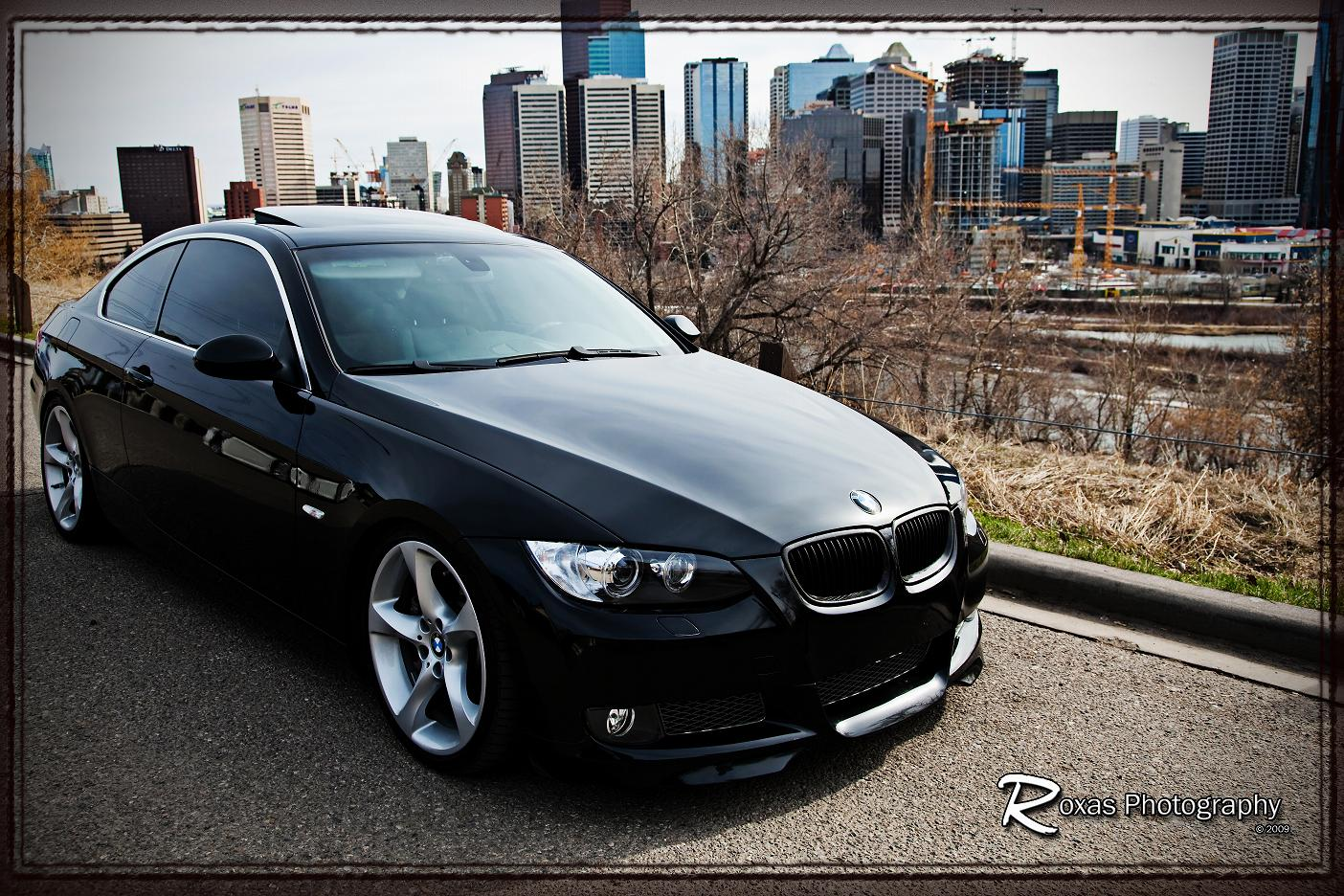 Black E92 Downtown