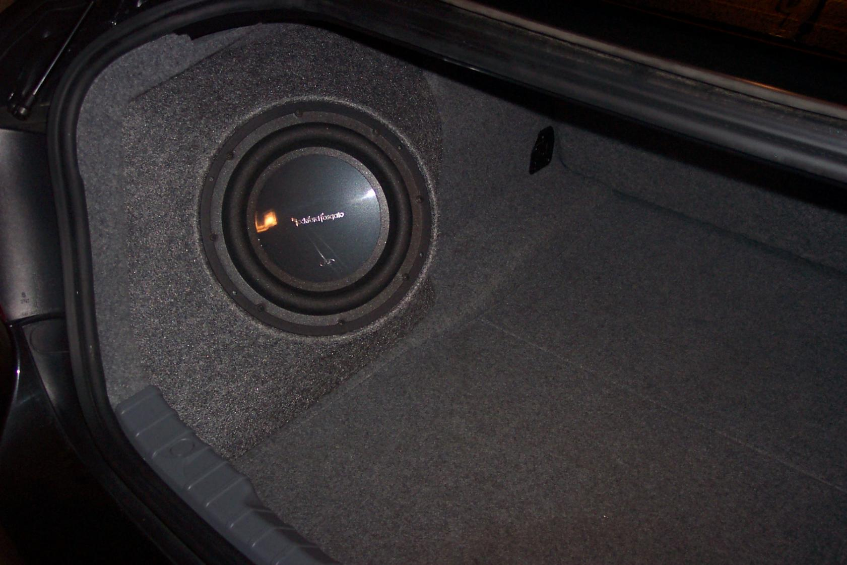 Best Trunk Subwoofer For E90