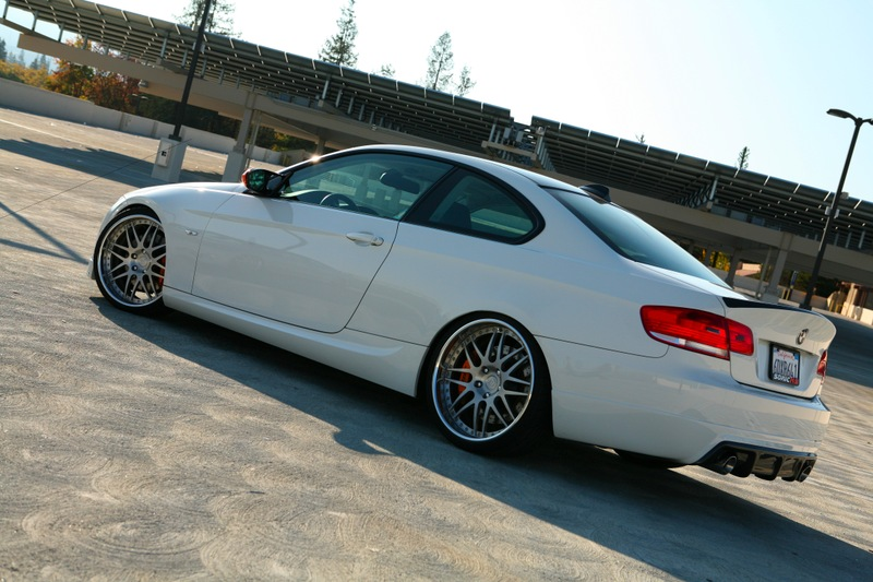 E92 M3 With Breyton Alloys And Csl Carbon Bootlid
