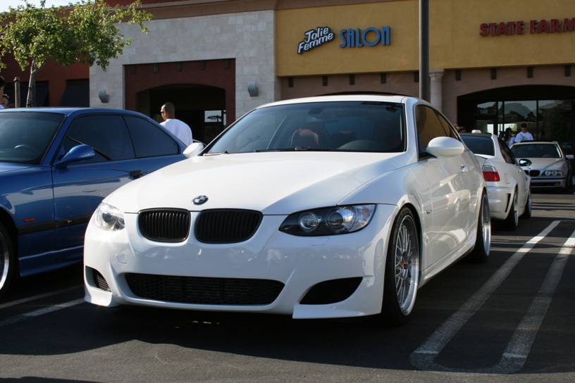 Fs 2007 Bmw 335i E92 White Red 6mt M Kit