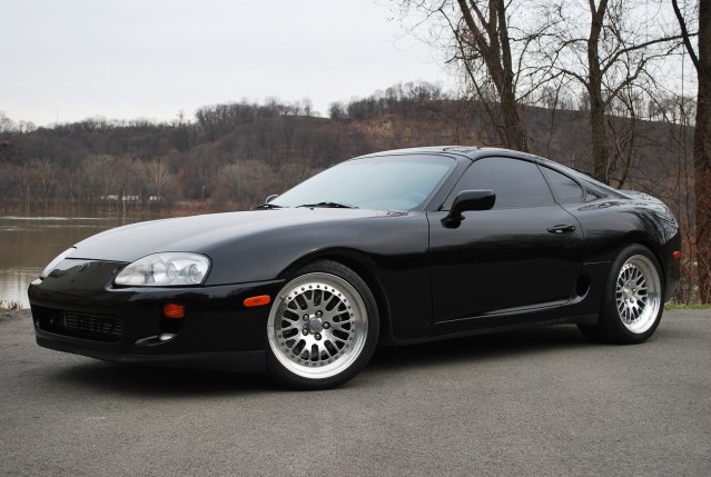 1994 Toyota Supra Tt Single 6spd Black Black Super Clean