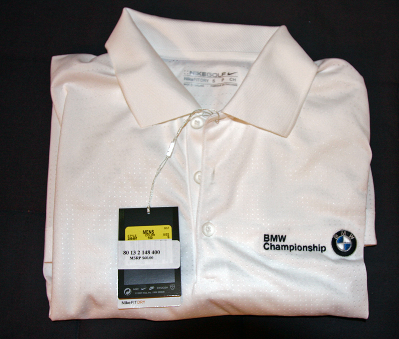 New With Tags Bmw Championship Nike Drifit Golf Shirt