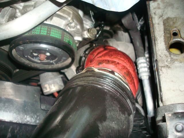 335d Oil Leak At Boost Hose