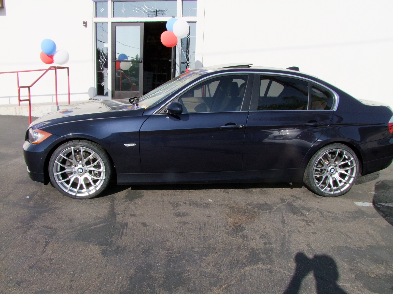 Breyton RACE GTS Silver With Hankook V12 On MB 335i E90