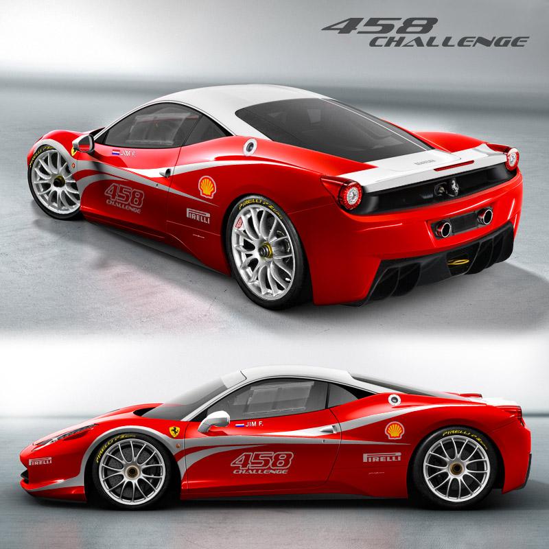 Ferrari 458: Ferrari Cool Site: Ferrari 458 Challenge