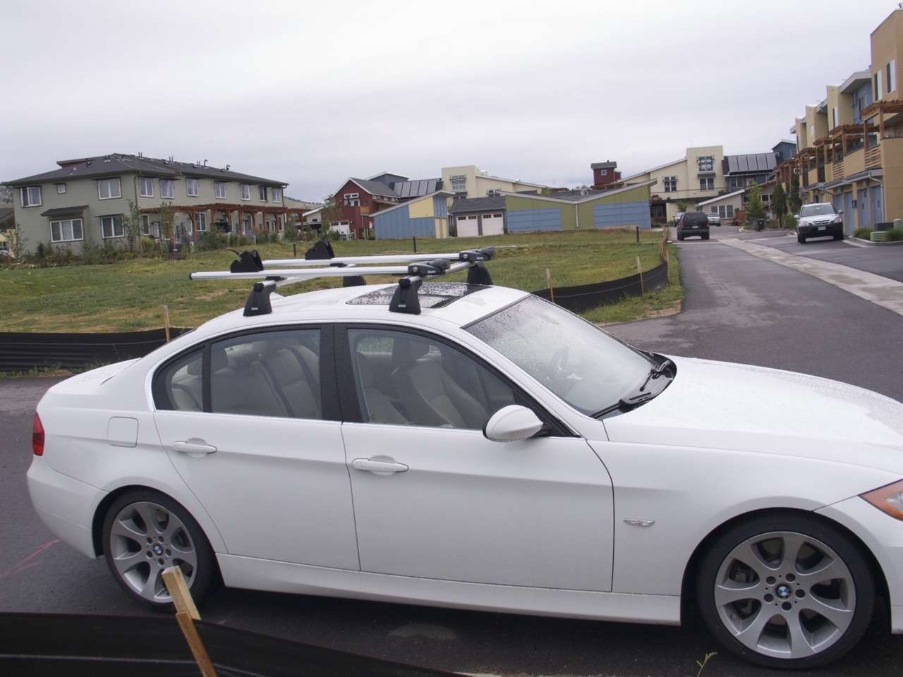 Wtb E90 Base Roof Rack With Bike Carrier