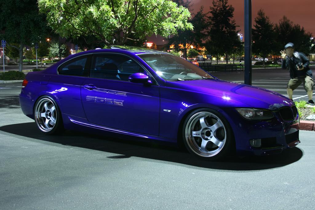 Purple Car Paint Color Code