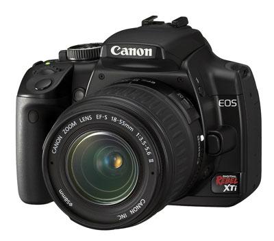 canon rebel xti lens. Canon Rebel XTI 18-55mm Lens