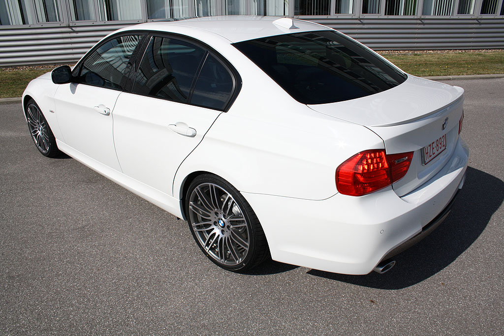 bmw 318d e90 lci m sport package performance. Black Bedroom Furniture Sets. Home Design Ideas