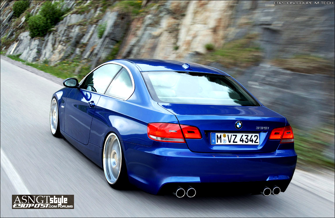 Bmw E92 335i Coupe Photoshop