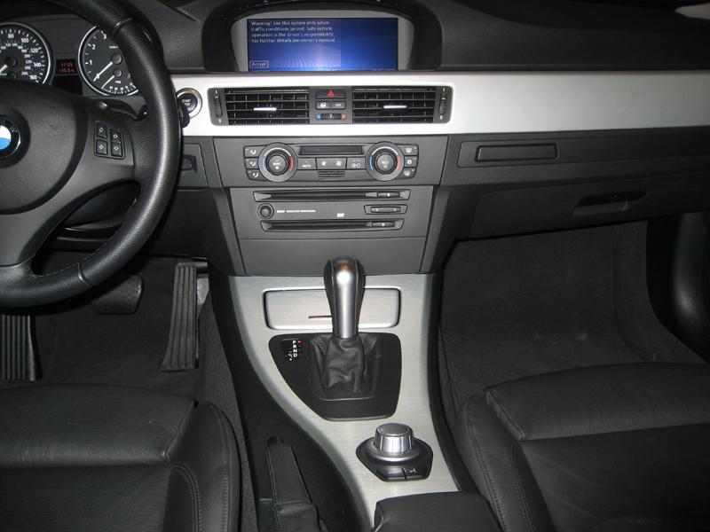 Wtt E90 Aluminum Interior Trim For Wood Idrive