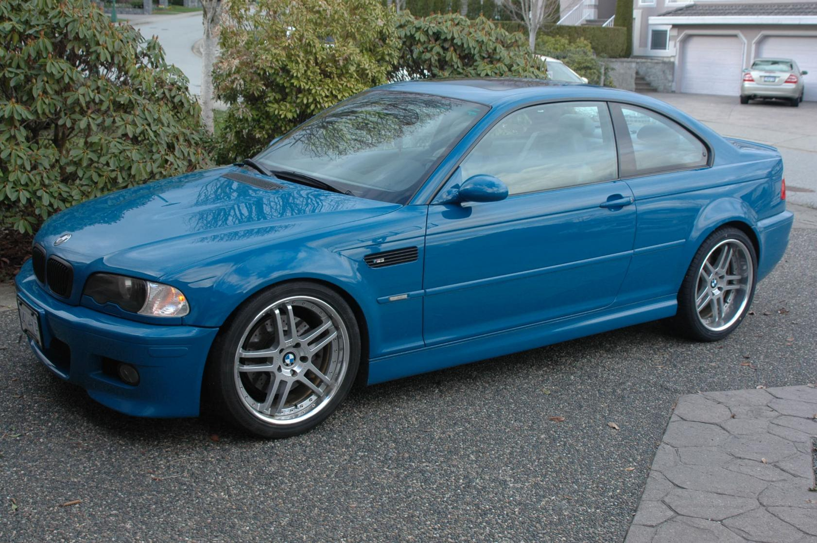 Fs 2001 Bmw M3 Laguna Seca Blue