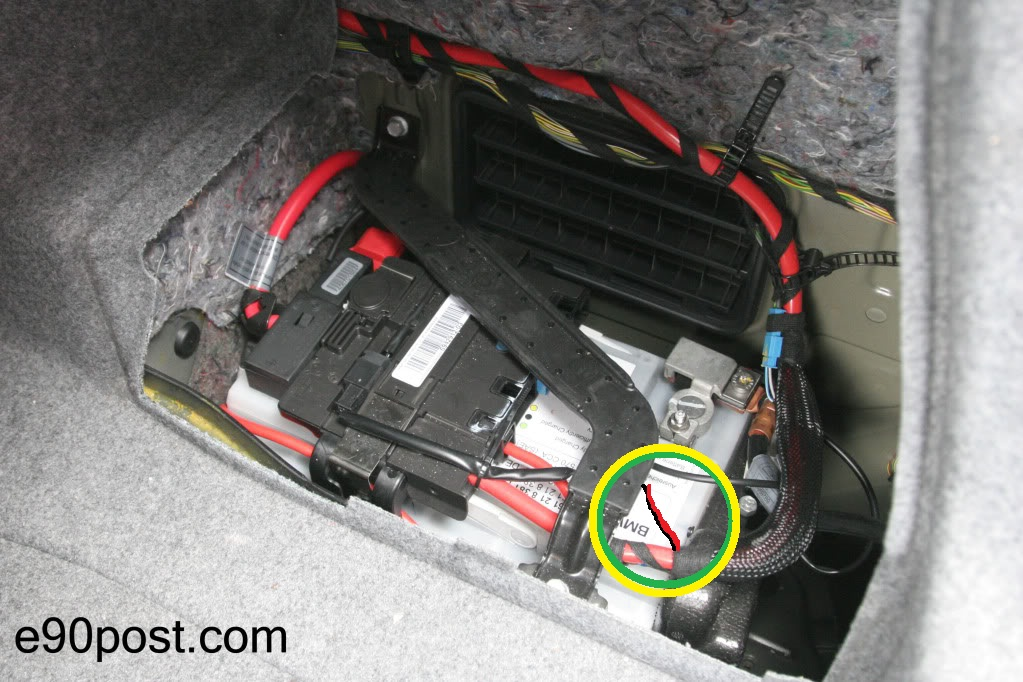 how to jump start bmw 328i 2011
